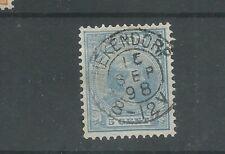 "Nederland 35 met ""HEKENDORP 1889""   VFU/gebr  CV 45 €"