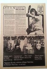 PETE TOWNSHEND 'Who Came First' 1972 ARTICLE / clipping