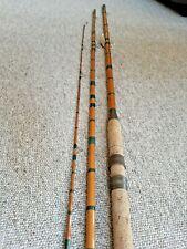 Vintage 3 Piece Coarse Split cane Fishing Rod