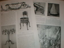 Photo article antique drinking accessories 1925