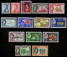 Fiji   1962-67    Scott # 176-189   Mint Lightly Hinged Set