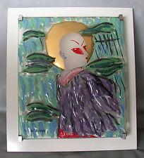 Rosenthal años objeto en vidrio 1985 Mephisto Salome