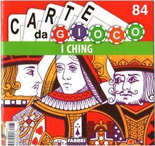 FASCICOLO CARTE DA GIOCO n 84 - MANUALE I CHING - FABBRI ED. 2008