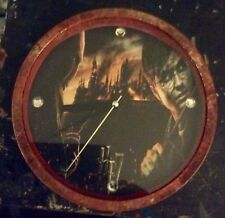 "Custom Made Harry Potter & Lord Voldemort Deathly Hallows 9"" Wall Clock"