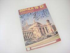 Arphila 1975 Stamp Philatelic Convention in Paris France Program and Map Vintage