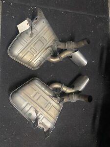 Porsche 996 3.6 ltr exhaust system, 01-04 Cars
