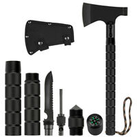 Camping Axe Multi-Tool Hatchet Survival Tomahawk Folding Hammer Hiking Hunting