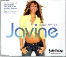 JAVINE  Touch my fire  4 TRACK CD     NEW - STILL SEALED  EUROVISION