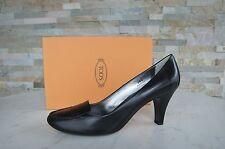 orig Tods Tod´s Pumps Gr 39,5 Schuhe Halbschuhe Shoes schwarz black neu UVP 320€