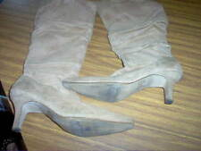 Unbranded High (3 in. and Up) Solid Boots for Women