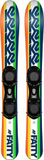 K2 Fatty 88 cm Skiboards Skiblades with ski boot bindings 2020 + Free Groove Bag