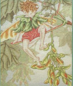 """""""The Sycamore Fairy"""" CICELY MARY BARKER Flower Fairy DMC #PC111 ©1996 Sealed"""