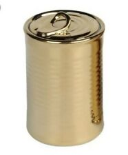SELETTI LIMITED EDITION GOLD Estetico Quotidiano Porcelain Cans The Can Set of 6