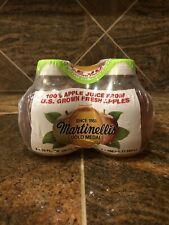 *TIK TOK* Plastic Martinelli's Gold Medal 100% Apple Juice 10 Fl. oz *1 BOTTLE*