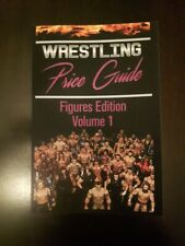 Wrestling Price Guide Figures Edition Volume 1: Over 450 Pictures Paperback Book