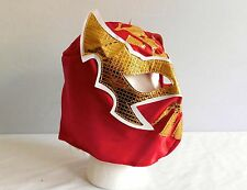 MIstico Cara RED NEW Lucha Libre Pro Wrestling MASK Costume Mexico wwe