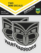 New Zealand Warriors Official NRL iTag UV Car Team Logo Mini Decal Sticker