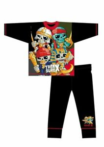 BRAND NEW BOYS OFFICIAL TREASURE X PIRATE PYJAMAS AGES 4-5 up to 9-10 YEARS