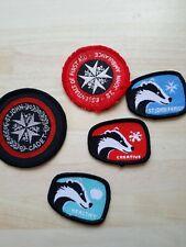 st john ambulance vintage badger / cadet badge joblot