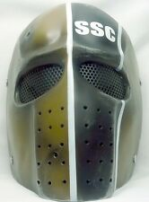"New! Army of Two ""SSC"" Custom Fiberglass Paintball / Airsoft Mask"