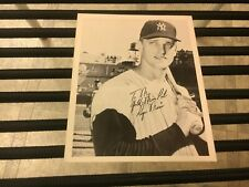original 1962 Gehl's Ice Cream Roger Maris New York Yankees 4 X 5 Baseball Card