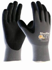 12 Paar aTG MAXIFLEX Endurance Nylon-Strickhandschuhe 34-844 Montagehandschuhe