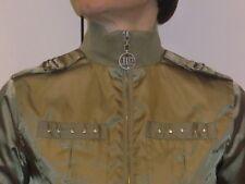 JLo Shiny shimmering Green-ish Jacket w/rhinestones XS