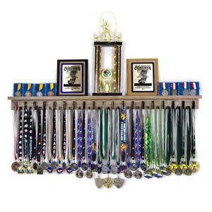 4' Medal Award Display Rack and Trophy Shelf Medal Holder