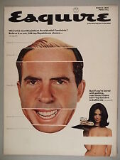 Esquire Magazine - March, 1966 - COVER ONLY ~~ Richard Nixon