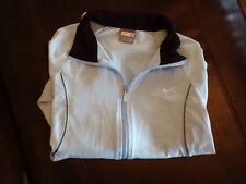 Nike Womens Light Blue Cotton/Spandex Size M(8/10) Zip Up Jacket EUC!
