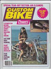 Vintage CUSTOM BIKE Magazine March 1982
