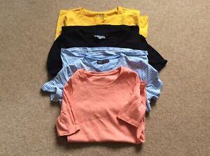 ladies t shirts size 10 bundle