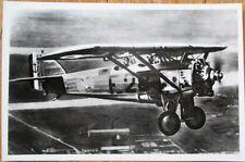 Morane 230 Airplane 1940s Realphoto French Aviation Postcard