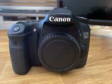 Canon EOS 70D 20.2MP Digital SLR Camera - Black (Body Only)