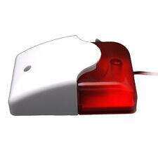 Mini 12 Volt Security Alarm Siren Red Light Replacement T5W8