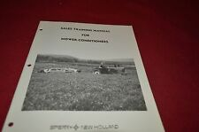New Holland Haybine Mower Conditione For 1975 Sale Training Manual Manual DCPA5