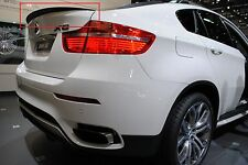 BMW X6 E71 E72 (08-14) REAR BOOT TRUNK SPOILER PERFORMANCE LOOK NEW TAILGATE