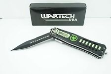"""8"""" Tactical Rescue Spring Assisted Open Pocket Knife Biohazard YCS7005Z"""