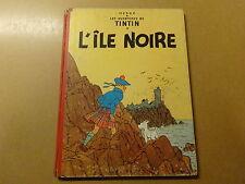 ALBUM BD / TINTIN 6: L'ILE NOIRE | 1957 | B21