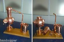 Helmet Distillery 0.75 liters with sieve *Alambicco *Alembic * Still * Moonshine