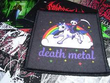 Death Metal Patch Rainbow Pony Death Metal Kids