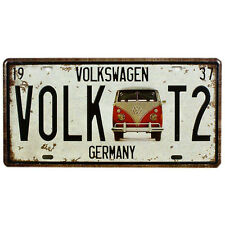 Volk VolkswagenT2 Retro Metal Sign Tin Plate - 30x15cm