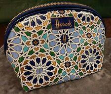 100% Genuine Harrods Mosaic Geo PVC Cosmetic Bag