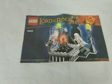 Lego Lord Of The Rings 79005 Manual Only