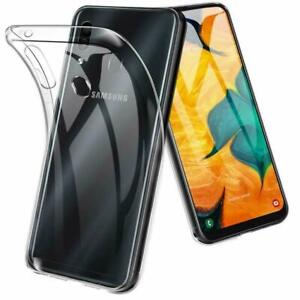 For Samsung Galaxy A12 2021 Clear Gel Case TPU Back Silicone Case Cover Skin UK