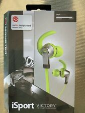 Monster iSport Victory w/ Apple ControlTalk In-Ear Only Headphones - Green