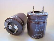LPH-200V221MS1 ELNA  ALUMINUM ELECTROLYTIC CAPACITOR 200V 220uF