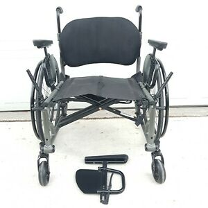 TiLite Aero-X Ultralight Folding Wheelchair Armrests Varilite Icon Back System