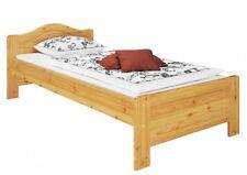 Cama Cama individual Cama de invitados Cama de madera maciza Pino 90x200 con