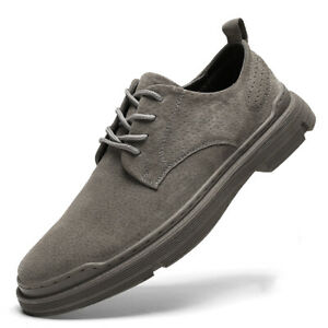 Mens Dress Formal Business Leisure Shoes Work Office Oxfords Lace up Walking Sz